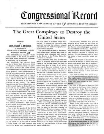 Communism 3,Propaganda 3,United Nations 2,World Government