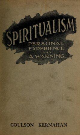 Automatic writing,Christian Science,Clinton,Genesis 1,Harvard,Hypnosis,Jesus 2,Judaism 3,Occultism 1,Old Testament 1,Prophecy 2,Psychism 2,Rapture,Reincarnation,Satanism 2,Socialism 2,Spiritualism 1,Supernatural 1,Theosophy