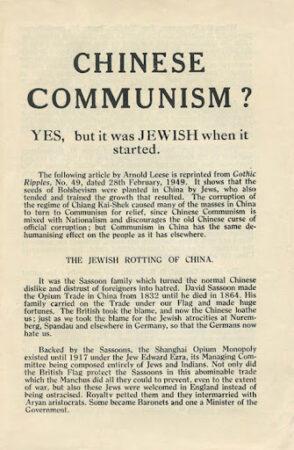 Aryan 2,Bolshevism 2,Communism 1,Freemasonry,Scottish Rite,Sovietism