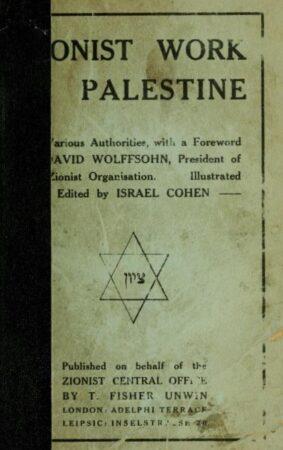 zionistworkinpal00cohe