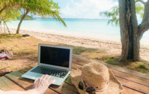 how to find work as a digital nomad with an online business