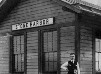 Stone harbor Museum Minute #29 Stone Harbor's First Train
