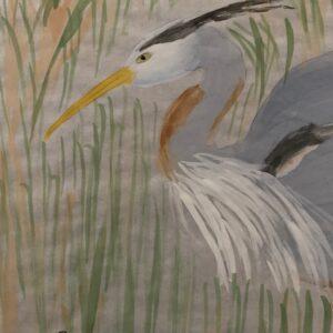 #6 – Great Blue Heron in the Wetlands – JoAnn Tutino – Adult
