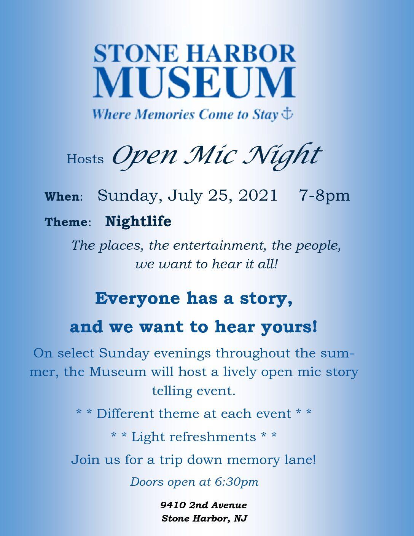 Open-Mic Night – SH Night Life