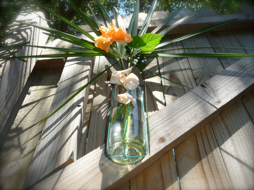 Vases from Wine Bottles