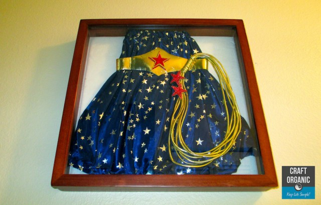 Costume in Shadow Box