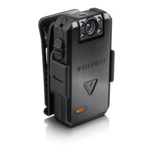 Venture bodycam mounted on clip