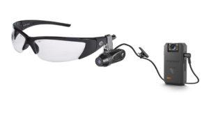 Venture bodycam with clip on glasses attachment