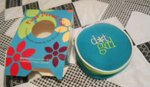 dot girl first period kit