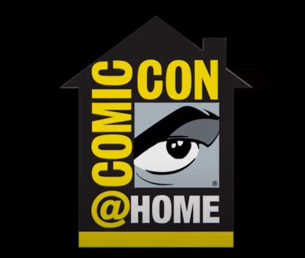 Comic Con at Home Logo