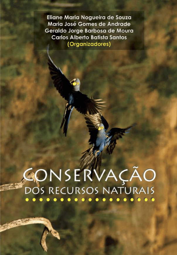 Capa de Livro: CONSERVAÇÃO DOS RECURSOS NATURAIS