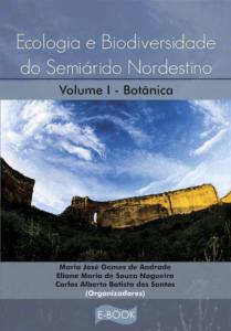 Capa de Livro: Ecologia e Biodiversidade do Semiárido Nordestino I