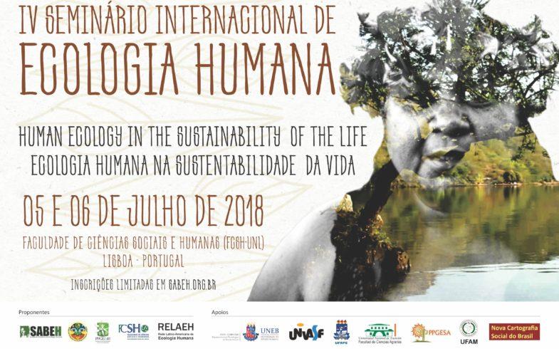 IV SEMINÁRIO INTERNACIONAL DE ECOLOGIA HUMANA