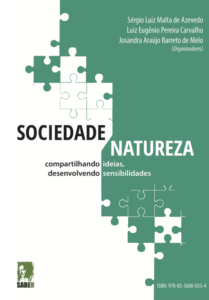 Capa de Livro: Sociedade-Natureza: compartilhando ideias, desenvolvendo sensibilidades