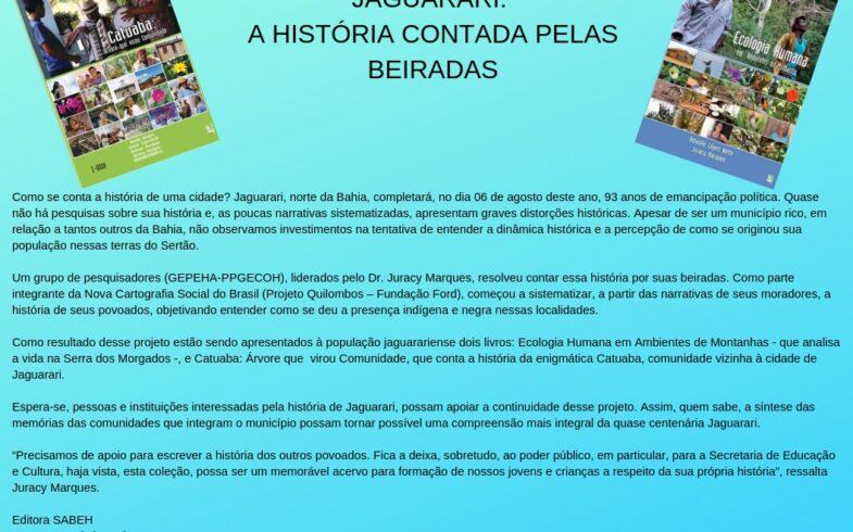 JAGUARARI: A HISTÓRIA CONTADA PELAS BEIRADAS
