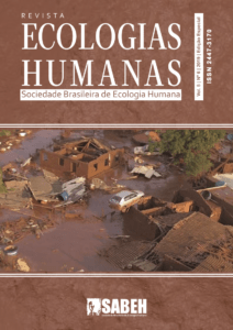 Capa de Livro: Revista Ecologias Humanas - Vol. 5 nº. 6 - 2019