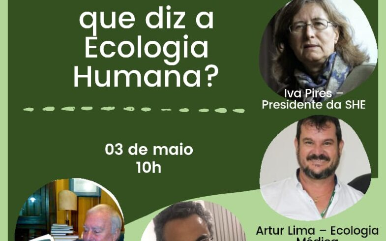 COVID-19: O QUE DIZ A ECOLOGIA HUMANA
