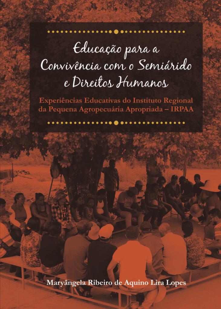 Capa de Livro: Educação para a Convivência com o Semiárido e Direitos Humanos