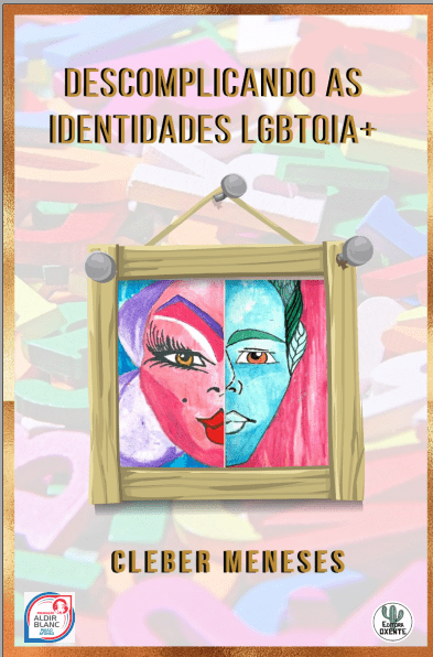 Capa de Livro: Descomplicando as identidades LGBTQIA+