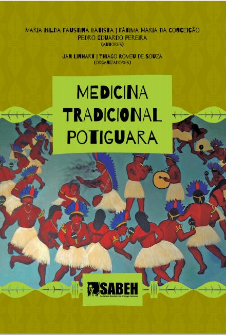 Capa de Livro: Medicina tradicional Potiguara