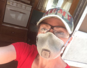 wear a respirator