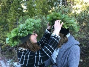 wreath crown