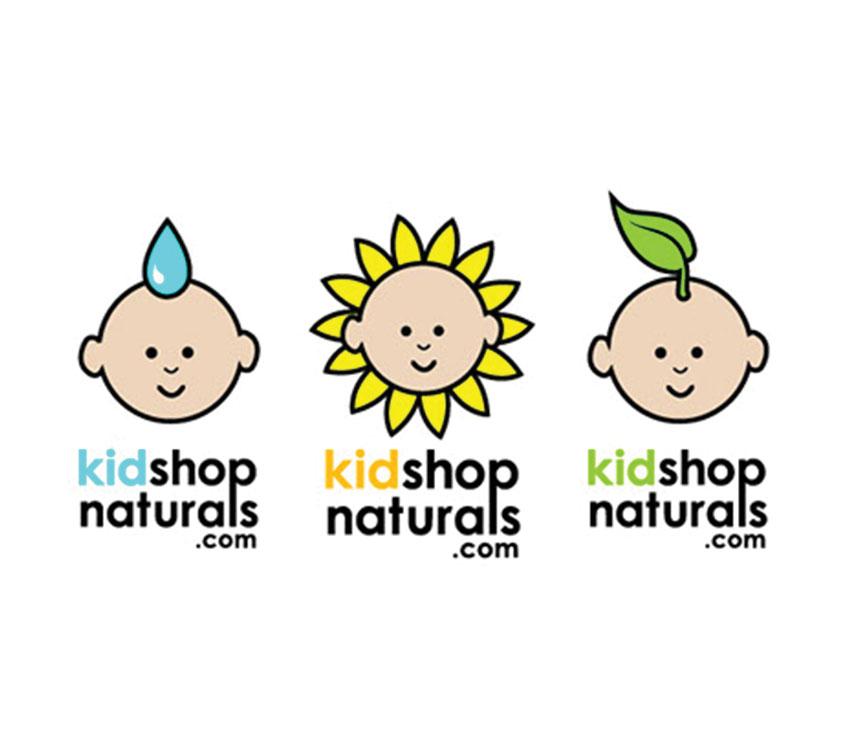 Kid Shop Naturals logos