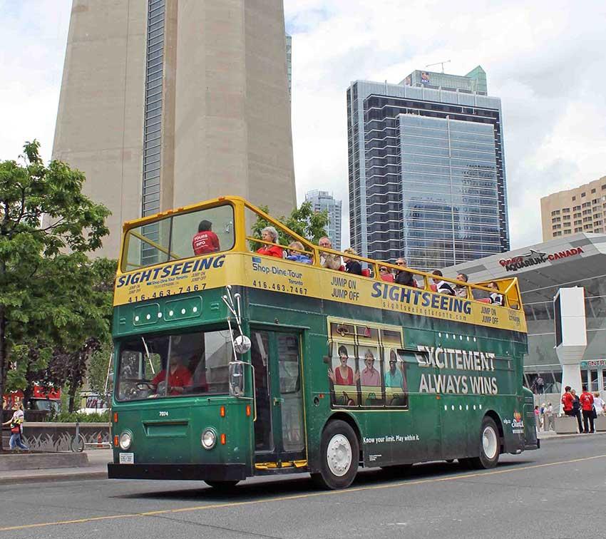 OLG Slots Bus Wrap in Toronto