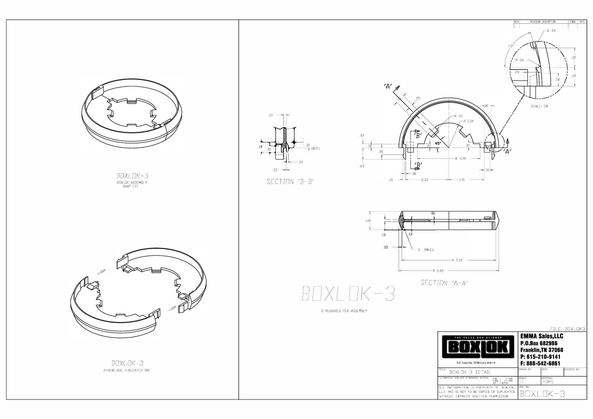 Boxlok-3 Drawing