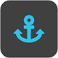 anchor icon | Pier 21 Marine