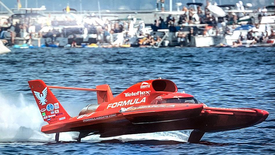 Formula Hydroplane - Mike Allen Driver | Pier 21 Marine