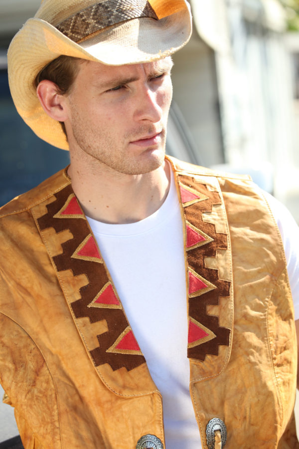 Native american style vests