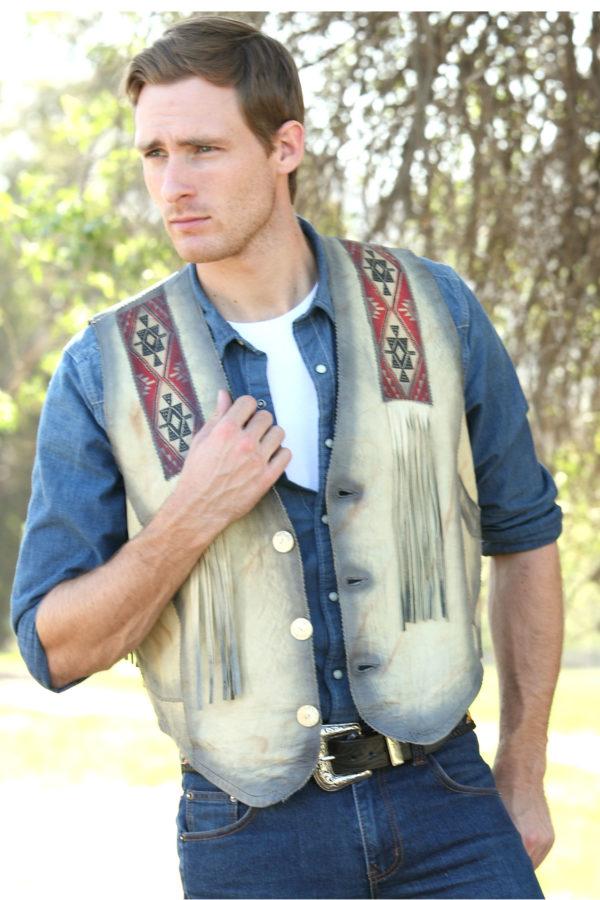 Southwest designs vests