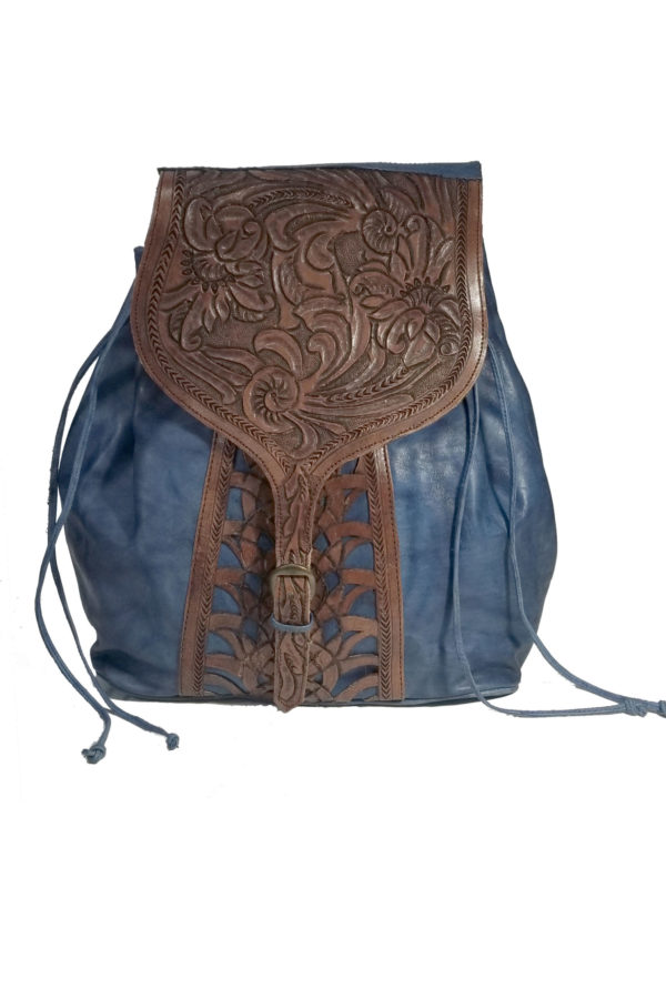 Native american style leather bags