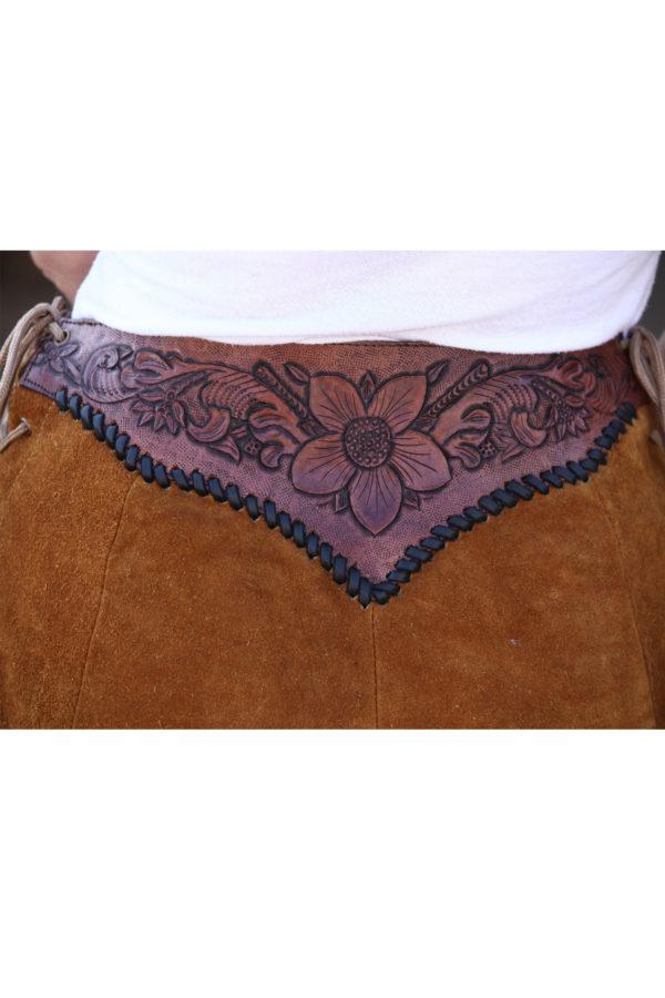 Women hand tooled skirts
