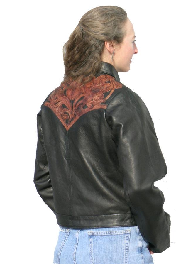 ladies carved vest