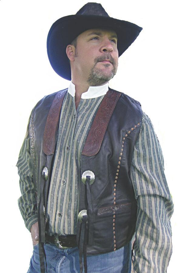 Carved vest