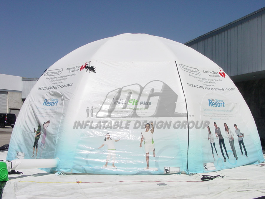 Inflatable Closed Tent
