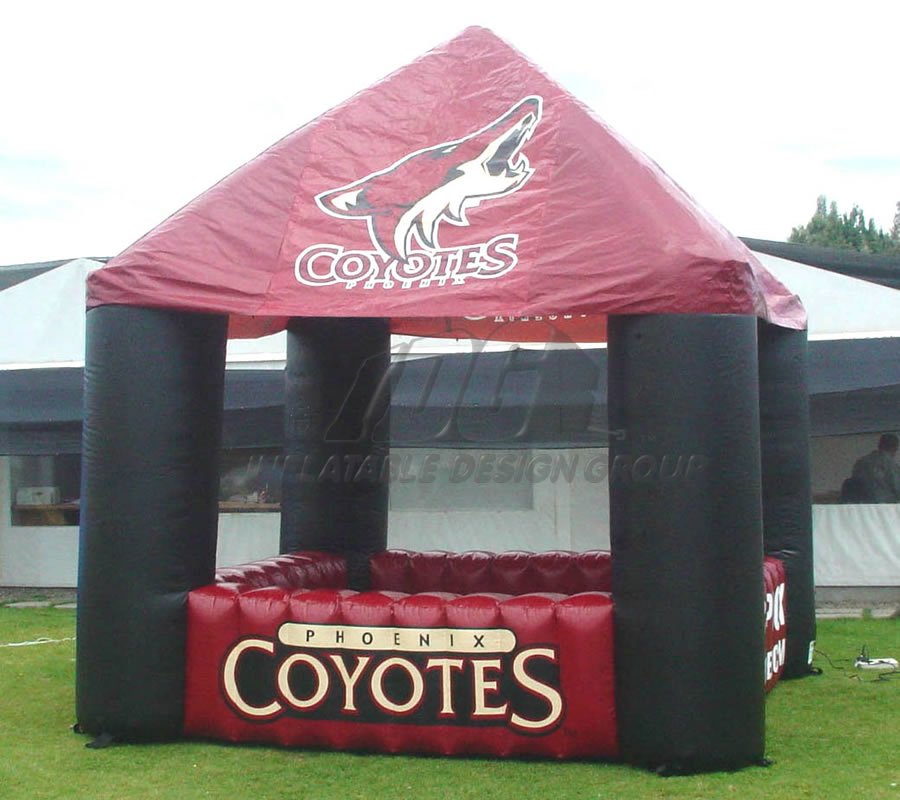 Inflatable Coyote Tent