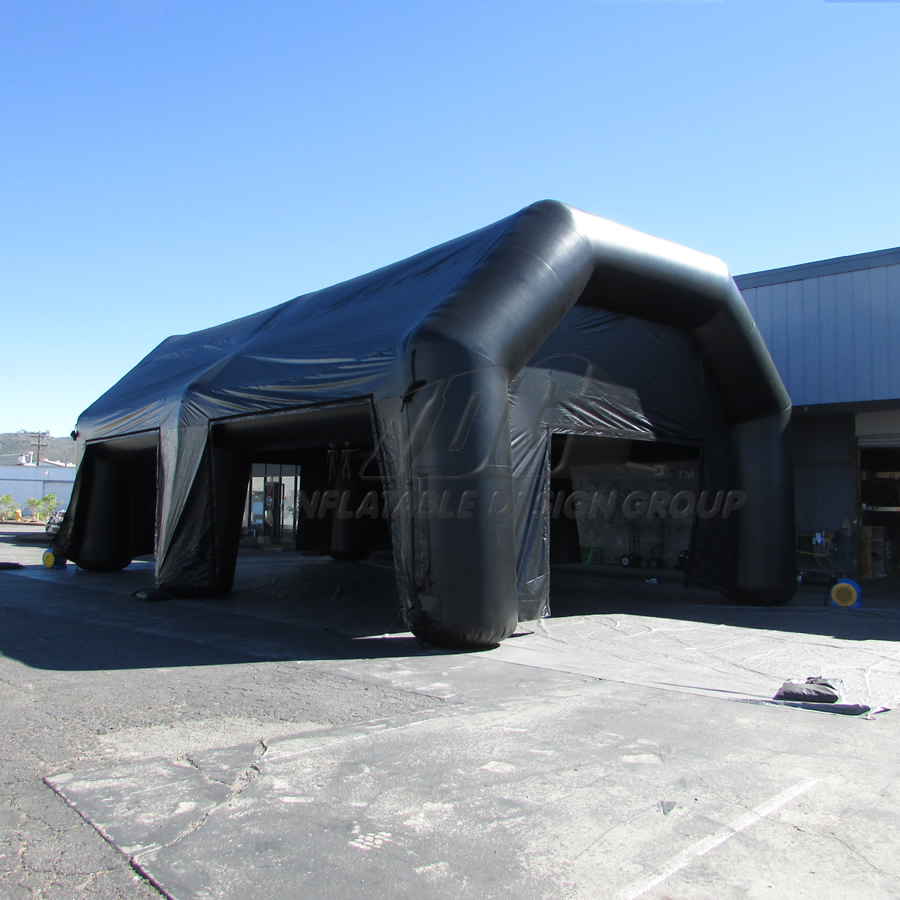 Inflatable Giant Tent Open