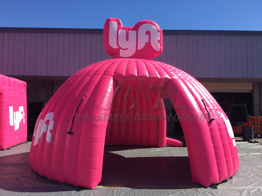 Inflatable Lyft Tent