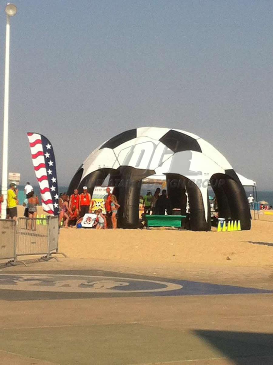 Inflatable Soccer Pavilion