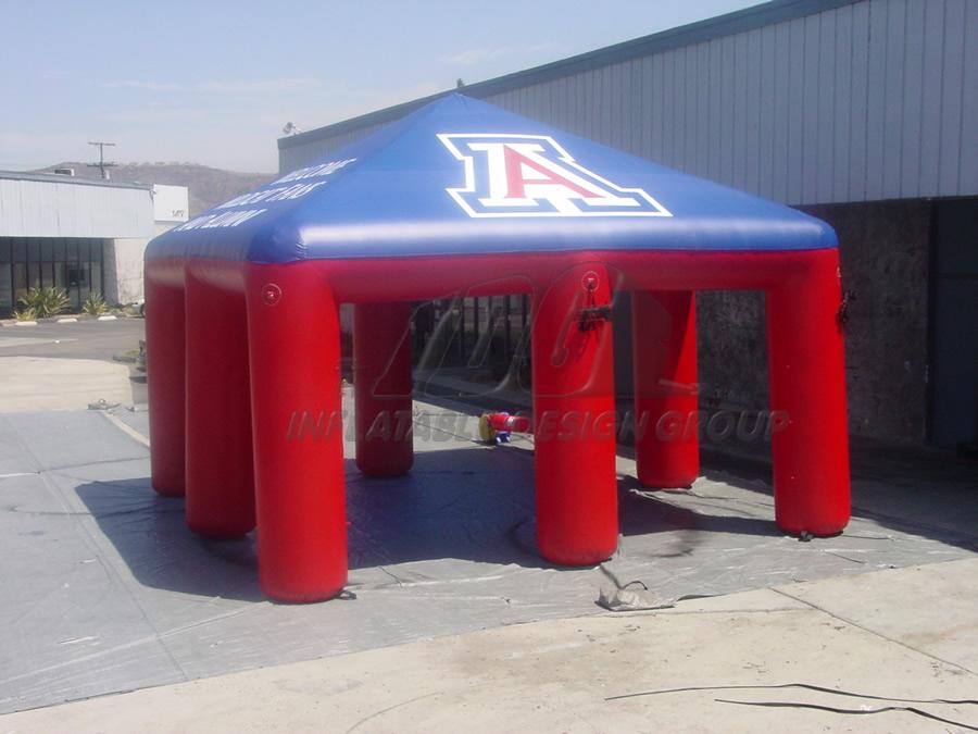 Inflatable UofA Tent