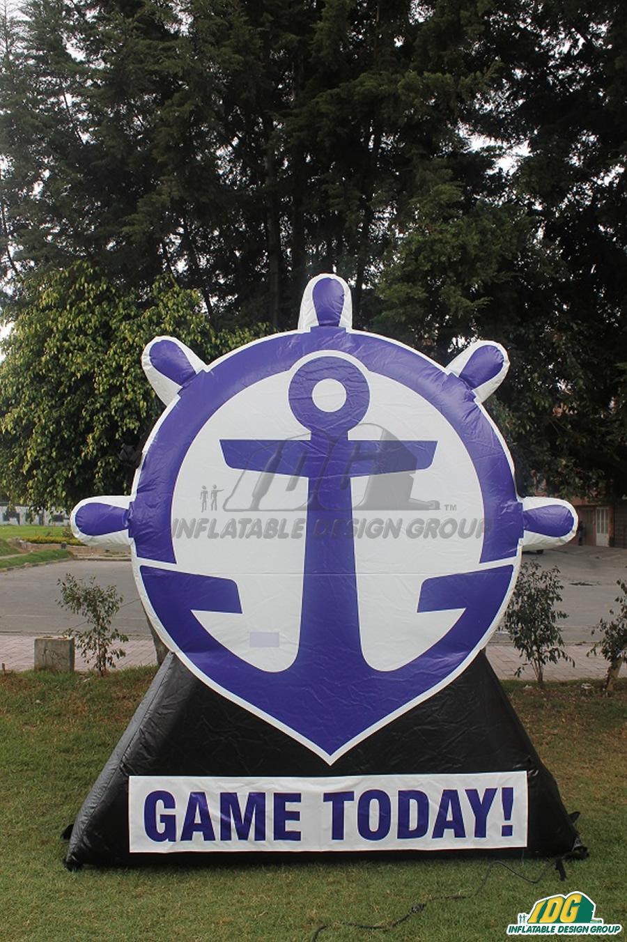 anchor custom inflatable logo block