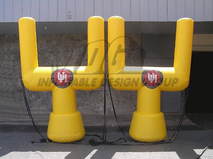 university of houston custom inflatable field goals