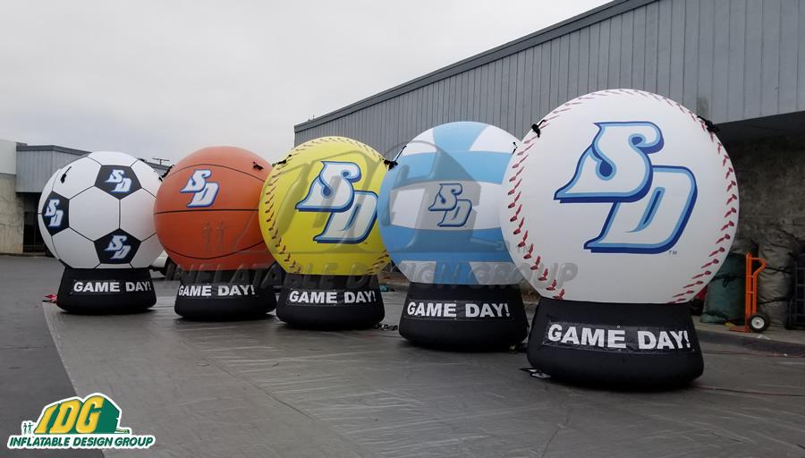 usd custom inflatable balls
