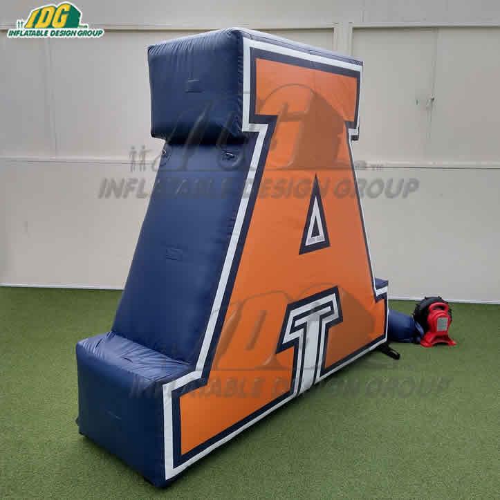 Inflatable Logo Block Custom