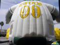 South Bend Silver Hawks Inflatable Belly Bouncer