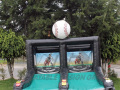 Southern Illinois Miners Inflatable Skee Ball