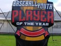 Baseball Youth Player of the Year Inflatable Logo Block